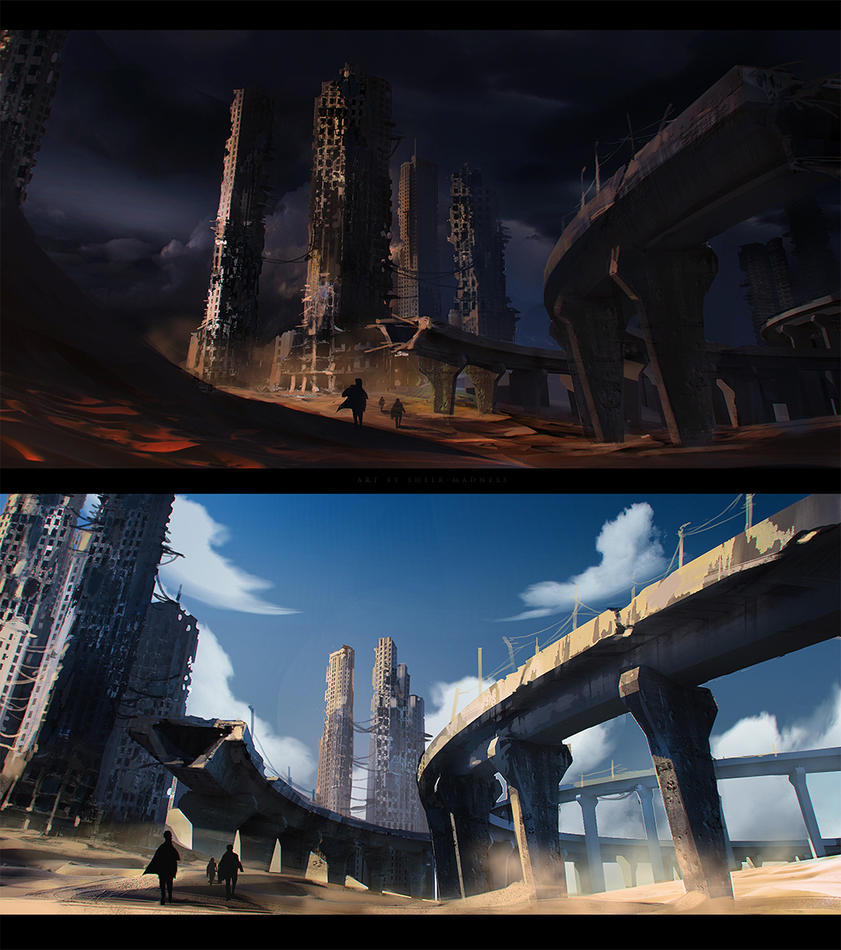 fan art The Scorch Trials by sheer-madness