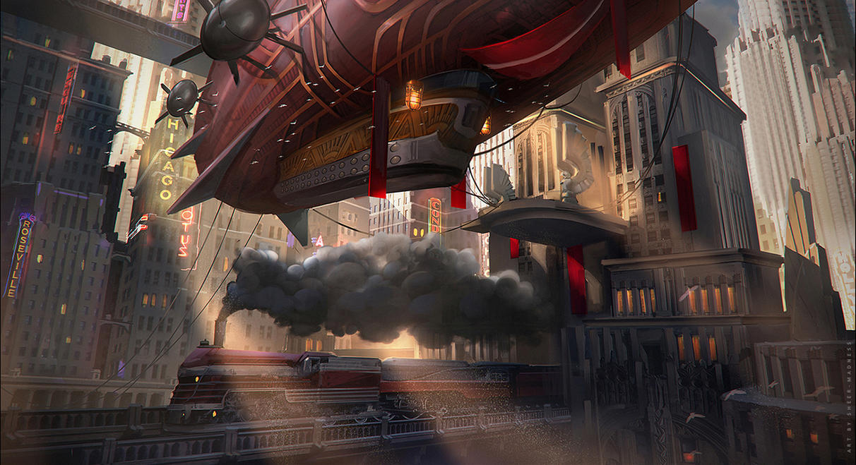 dirigible by sheer-madness