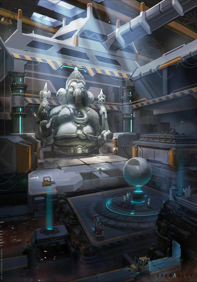 Ganesha by sheer-madness