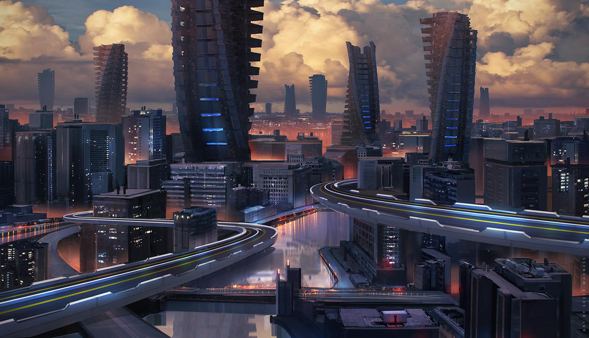 cityscape by sheer-madness