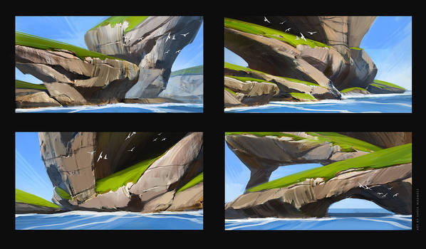 cliff sketches