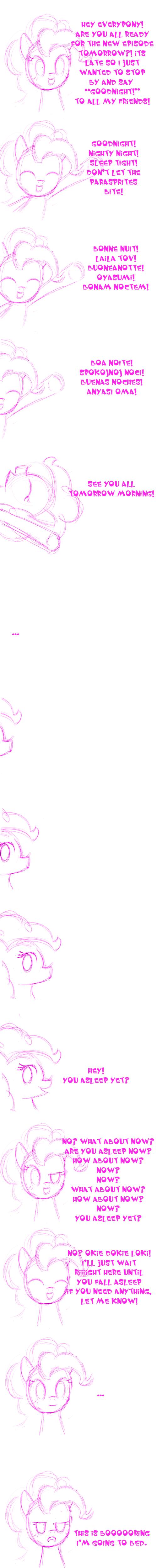 Pinkie Says GOODNIGHT