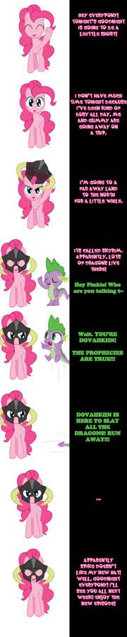 Pinkie says FUS RO DAH