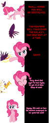 Pinkie and Octavia say Goodnight! by Undead-Niklos