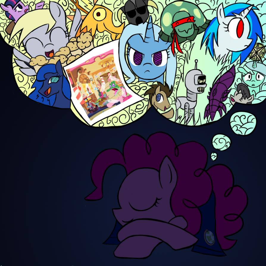 Goodnight Pinkie Pie by Undead-Niklos