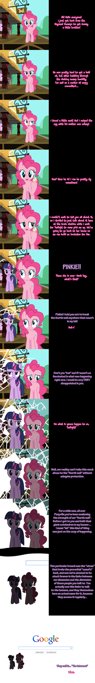 Pinkie Pie Says-- by Undead-Niklos
