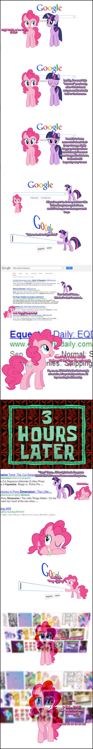 Pinkie Pie says Google-search!