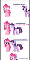 Pinkie Pie (finally) says Goodnight!