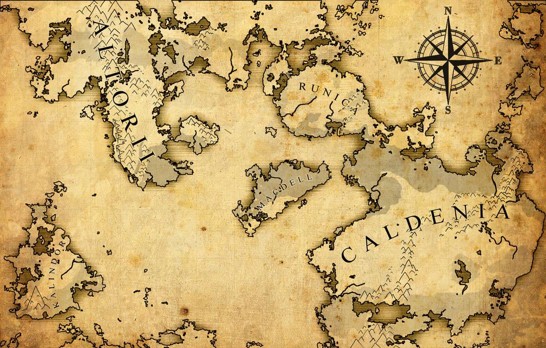 Odinhelm - DnD World Map by Undead-Niklos on DeviantArt
