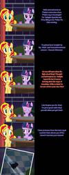 Pinkie Says Goodnight - Twilight Sunset by Undead-Niklos