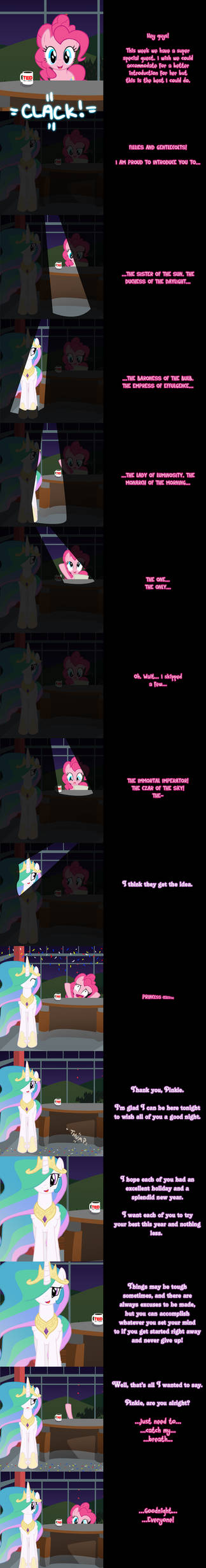Pinkie Says Goodnight - Princess Presentation
