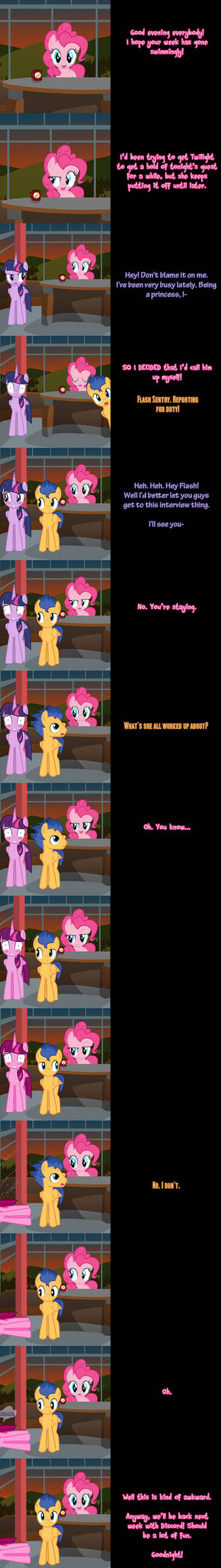 Pinkie Pie Says Goodnight - Flashlight Shipwreck