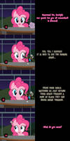 Pinkie Says Goodnight - What Fourth Wall?