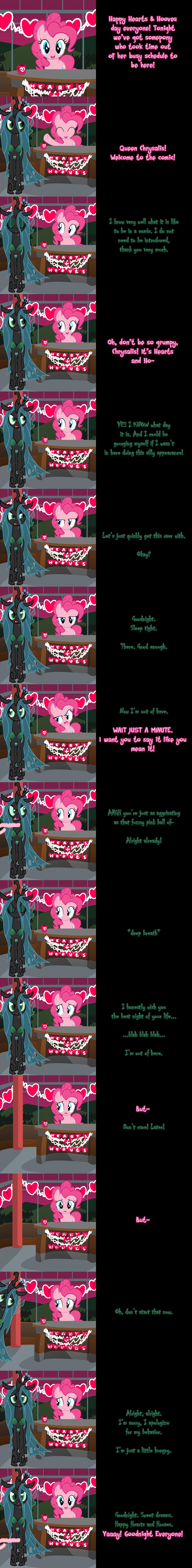 Pinkie Pie Says Goodnight - Feeding Frenzy by Undead-Niklos