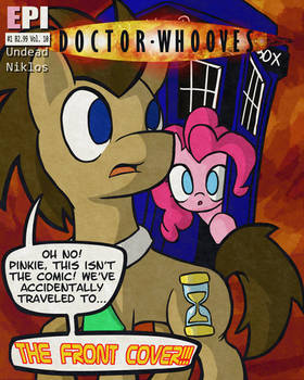 Pinkie Pie Says Goodnight - The Front Cover