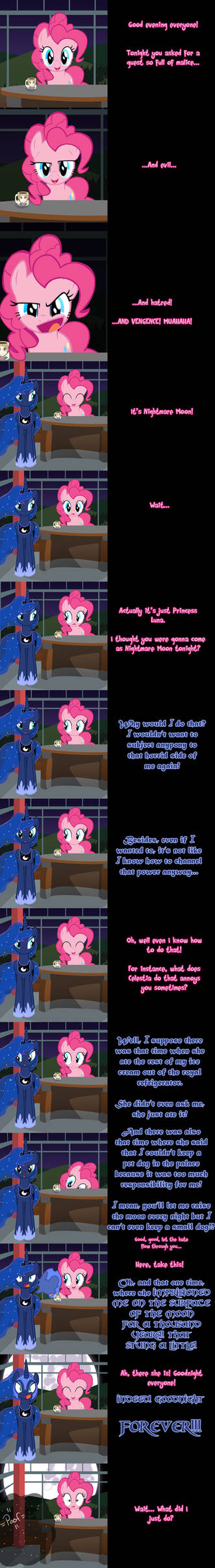Pinkie Says Goodnight - Evil Equines