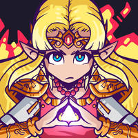 Super Smash Bros Ultimate - Zelda by Undead-Niklos