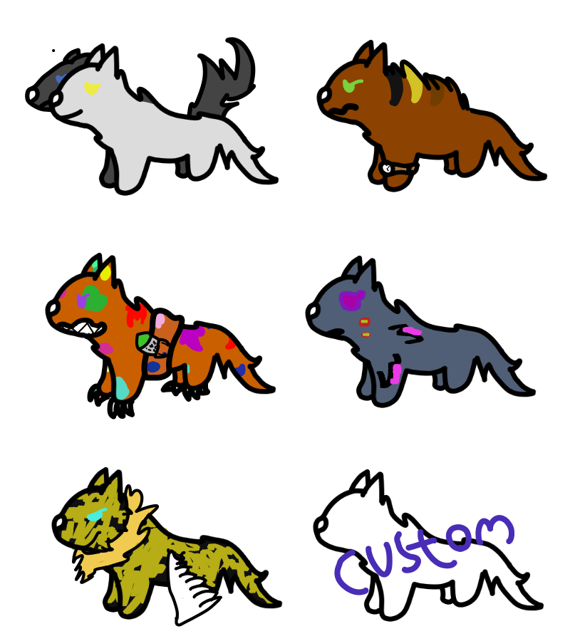 Mental disorders - adoptables by scarthedragon