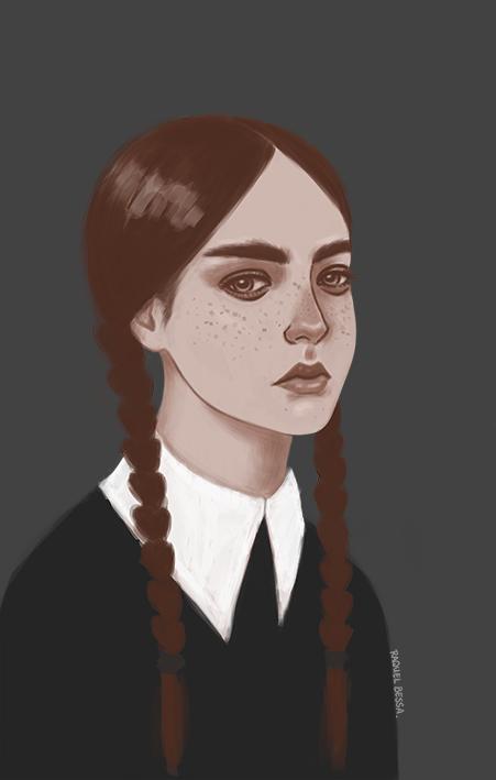 Wednesday Addams by raquelbessa