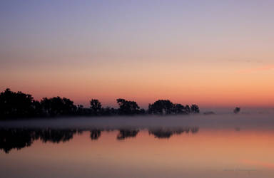 Mornings Reflection by silverlakephotos