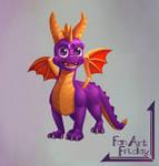 Fanart Friday 01 Spyro
