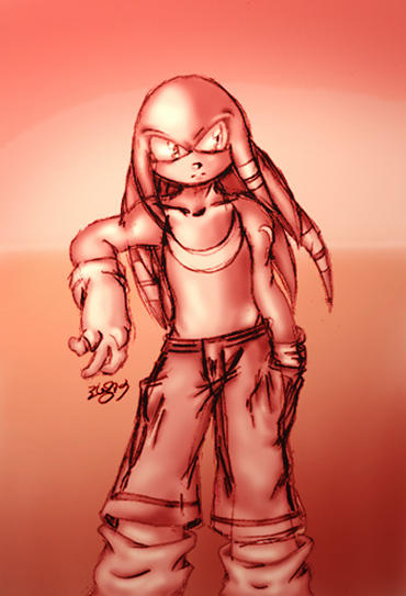 Knuckles by cuteychao