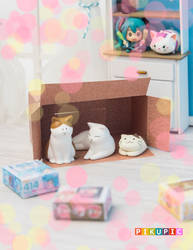 ll the boxes belongs to the cats! by Pikupic