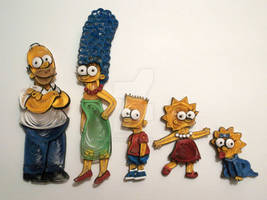 Paper Quilling - The Simpsons