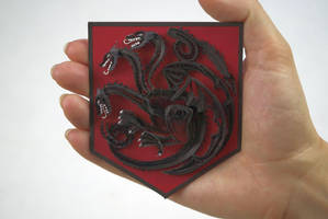 Game of Thrones Quilling Art House Blackfyre Scale
