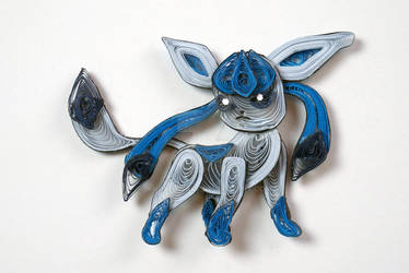 Pokemon Paper Quilling Art 471 Glaceon
