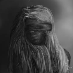 Speedpainting -- Girl by Evanscene