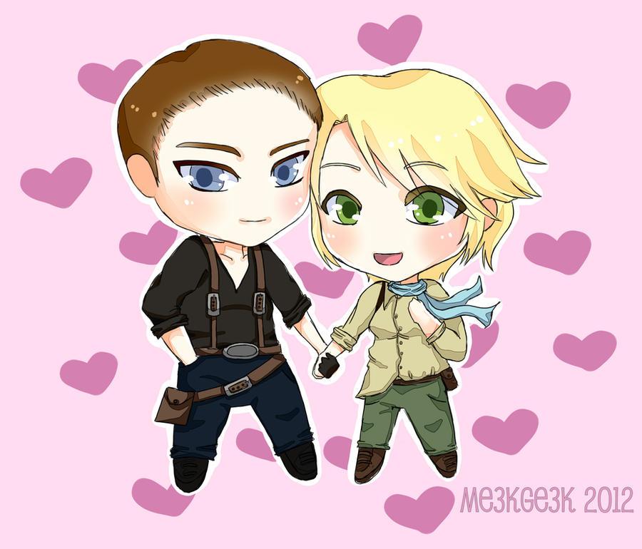 Sherry and Jake by meekgeek