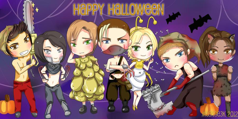 Resident Evil Monster Mash by meekgeek