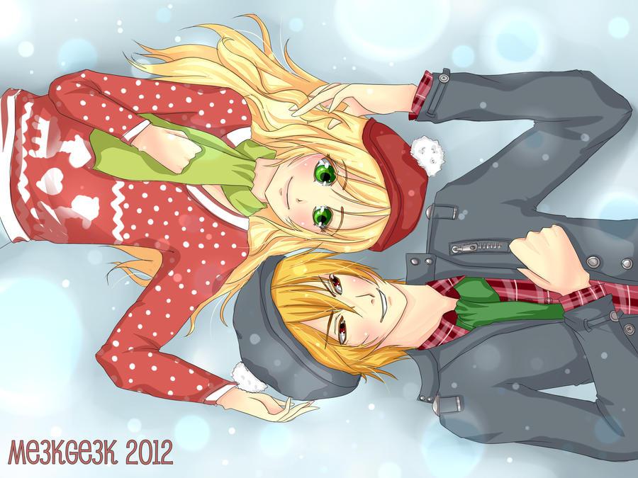 Winter Romance by meekgeek
