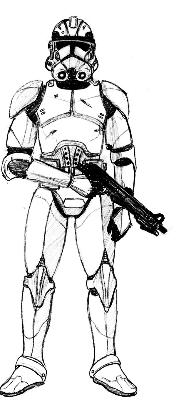 clone trooper phase 2 armor by crashybandicoot on deviantart for star wars clone trooper coloring pages - Clone Trooper Coloring Pages