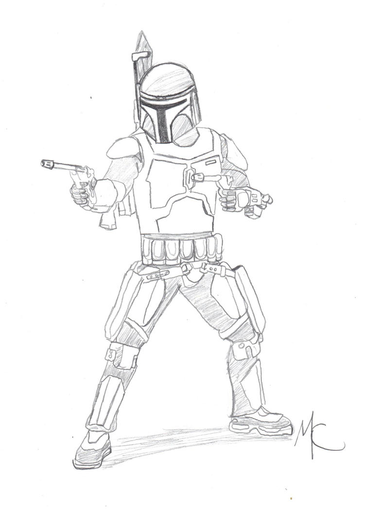 Adult Beauty Jango Fett Coloring Page Gallery Images cute jango fett concept by crashybandicoot on deviantart gallery images