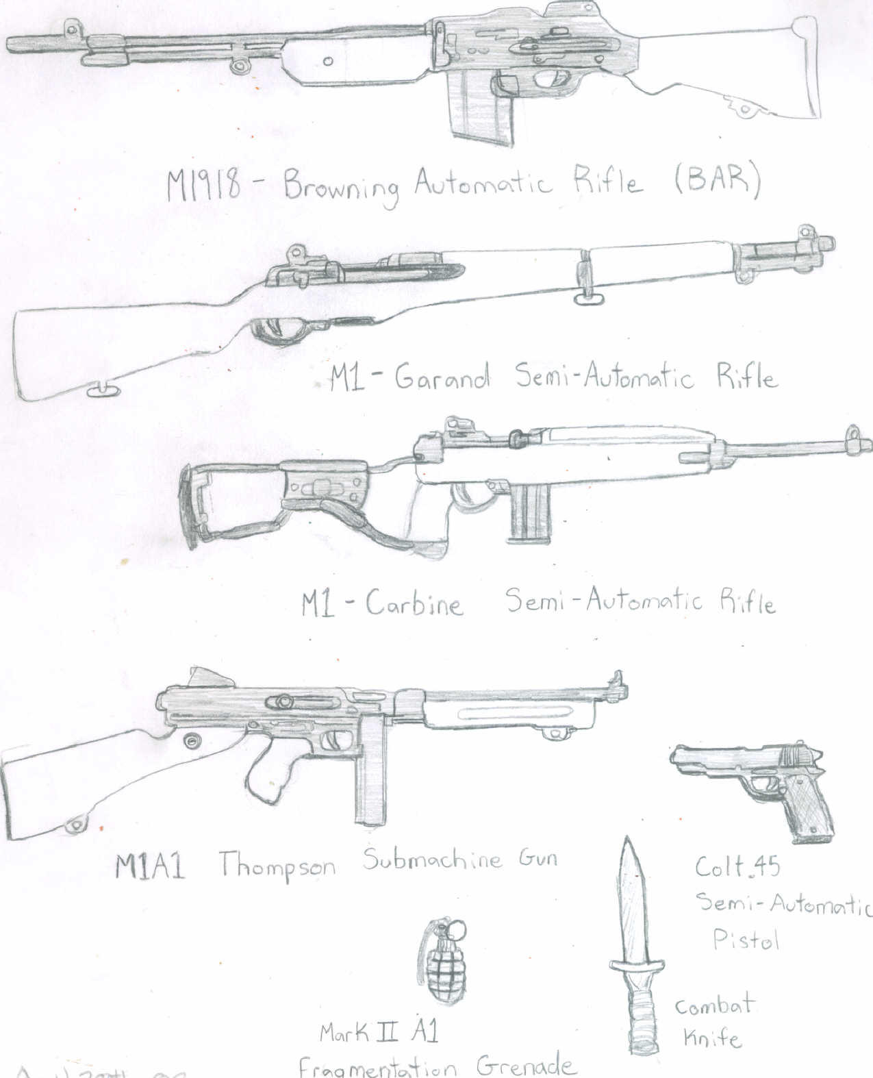Ww2 American Weapons American WW2 weapons b...