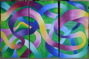 Three piece Art