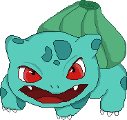 Personnages Libres : 001 Bulbasaur by Mechamyu