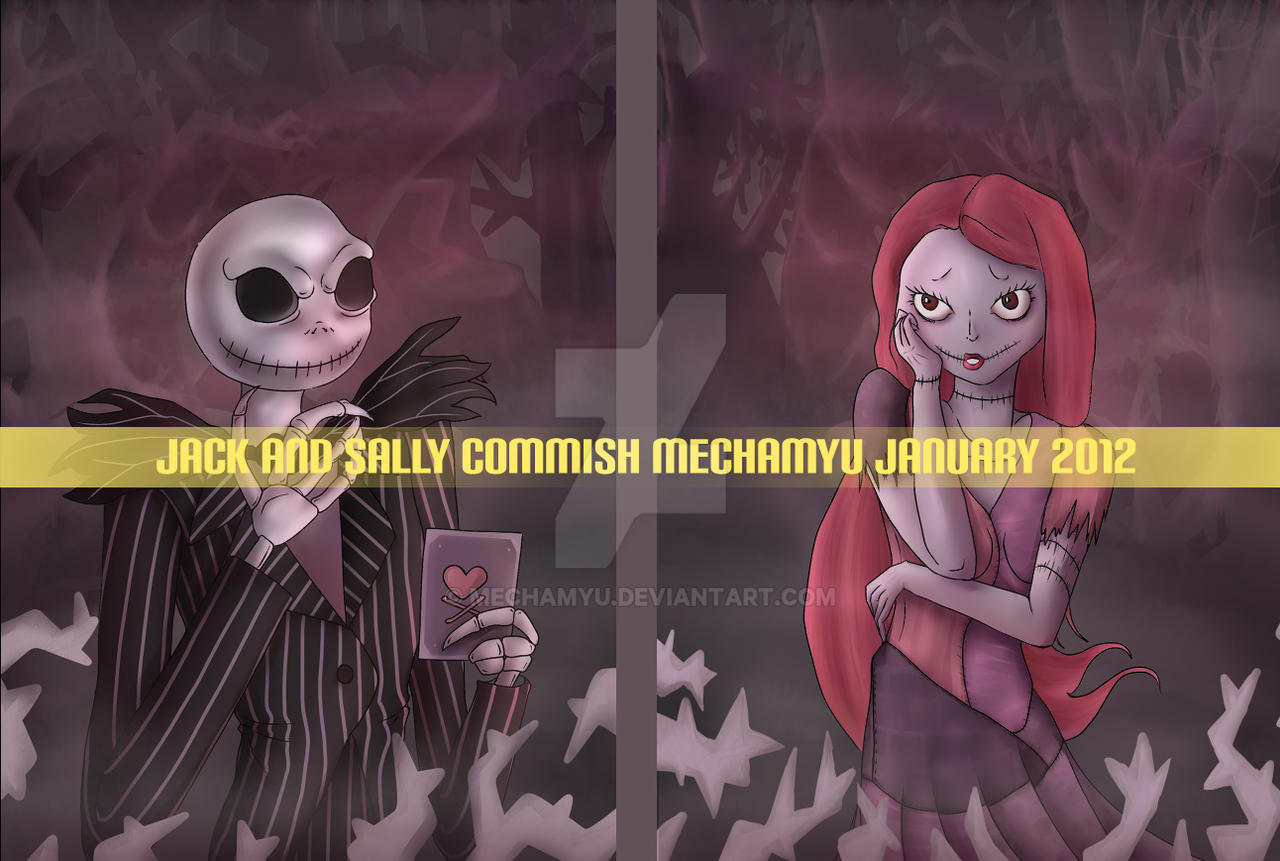 Commission : Jack and Sally