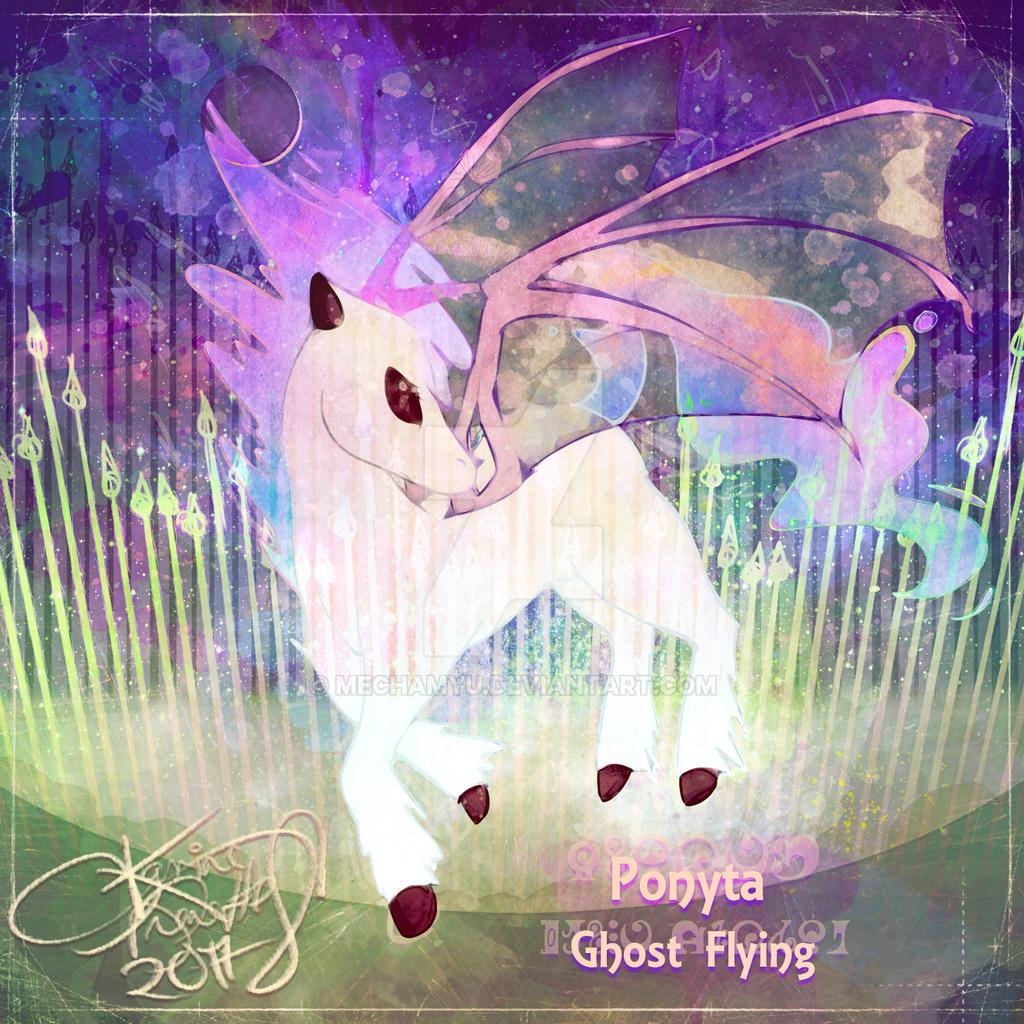 Ghost Flying Ponyta [Pokechallenge]
