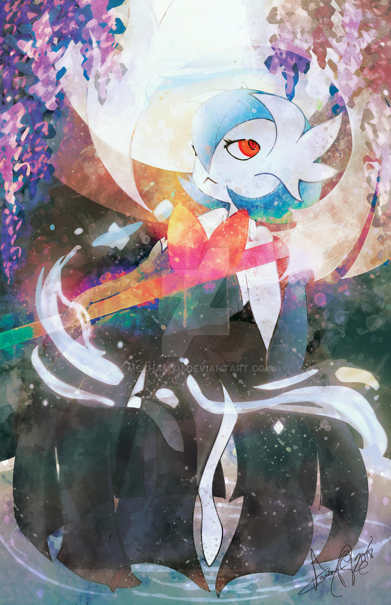 Shiny Mega Gardevoir [Commission]
