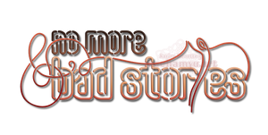 [Logo] No More Bad Stories - Neon Sign