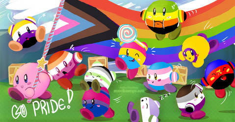 GO! Kirby Pride!