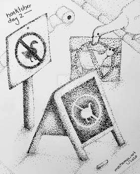 [Honktober] Day 2 - Pointillism