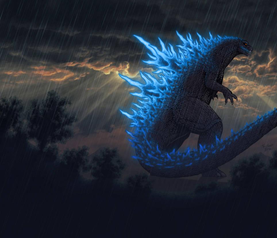Lighting Godzilla
