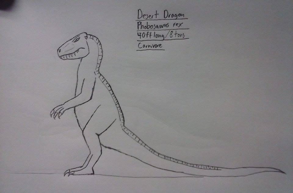 Desert Dragon by Raygathex