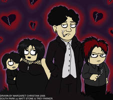 South Park Goths by Mags-Is-Obsessed