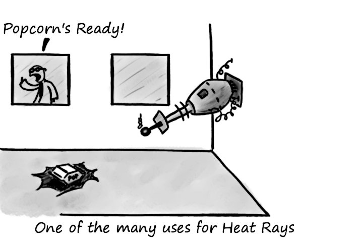 Heat Rays by SuperBillyJilly