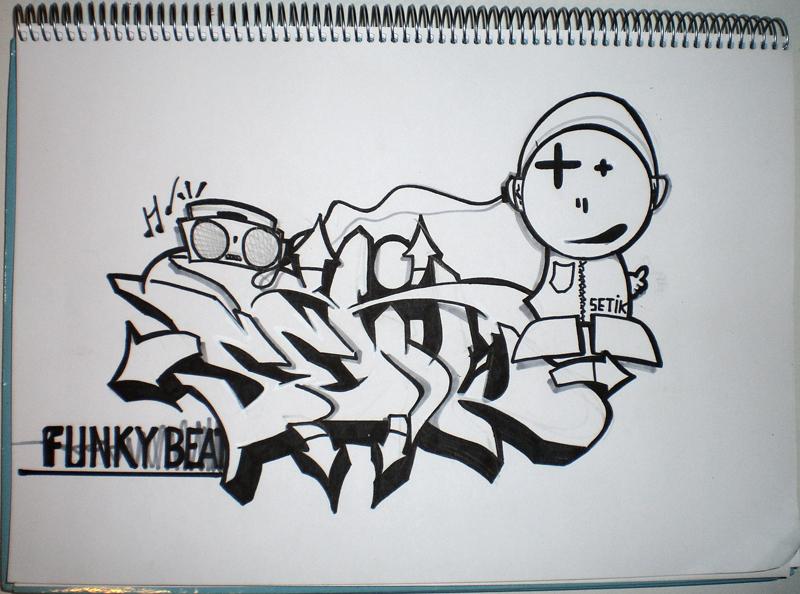 Funky Beat...Blackbook by Setik01